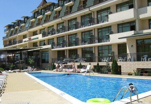 Wczasy wBułgarii, Hotel Julia wsv Vlas