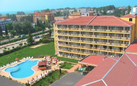 hotel Trakia Garden uwieczniony podczas wycieczki do Bułgarii