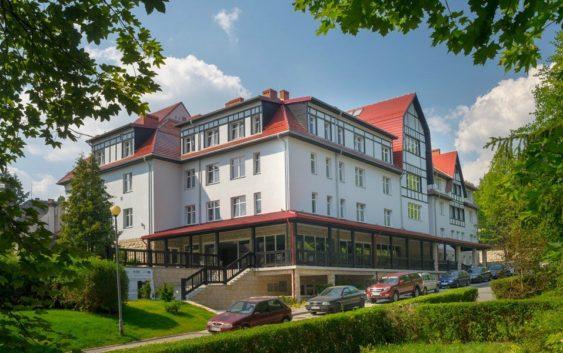 świetny hotel na wypoczynek i zabiegi w Polanicy Zdroju