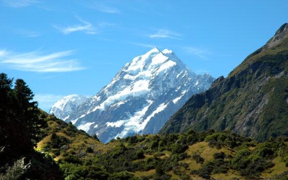 Mt.Cook podczas wycieczki do Nowej Zelandii i Polinezji Francuskiej z wylotem z Warszawy
