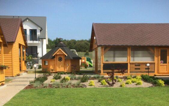 świetne komfortowe w pełni wyposażone domki nad Bałtykiem z udogodnieniami dla rodzin z dziećmi