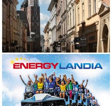 atrakcyjne wyjazdy do Krakowa i Energylandii z bonem turystycznym