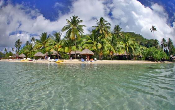 rajskie wysepki archipelagu Polinezji Francuskiej, Huaine, Bora Bora, Tahiti