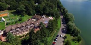 hotel wBieszczadach nadSoliną zdostępem dosauny isali fitness któryrealizuje bon turystyczny