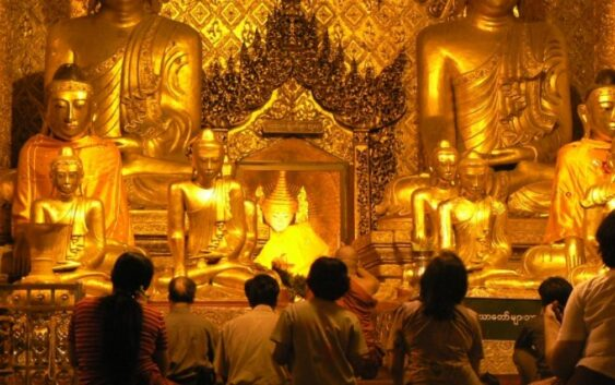 piękne buddyjskie świątynie Birmy z wycieczki Birma Bangladesz Bhutan