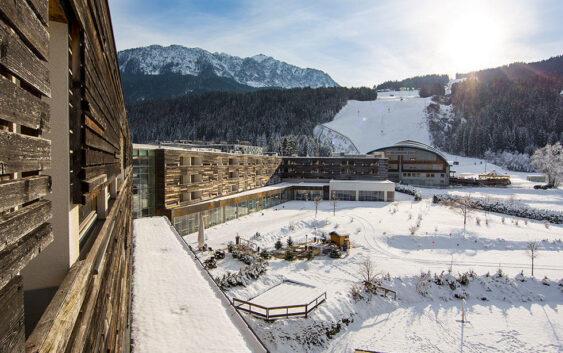 hotel Falkenstiner and Spa Carinzia w Karyntii przy samej stacji narciarskiej Hermagor-Nassfeld