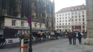 karedra św. Szczepana uwieczniona w ramach wyjazdu krótka wycieczka weekendowa do Wiednia