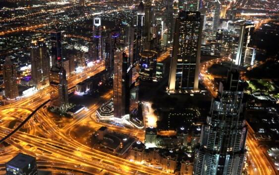 Dubaj widziany podczas wycieczki Emiraty Arabskie z wypoczynkiem